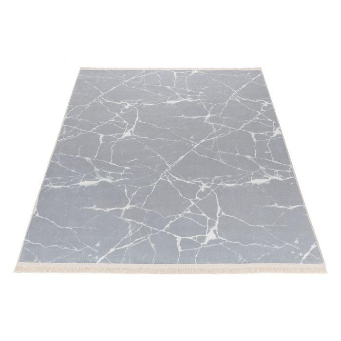 Waschbarer Teppich Bamboo Grau M2158
