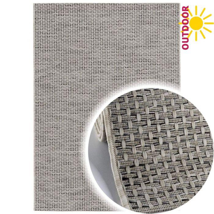 Valetntinstag Outdoorteppich in Grau Natur | Innen | | und Außenbereich geeignet | MY3610
