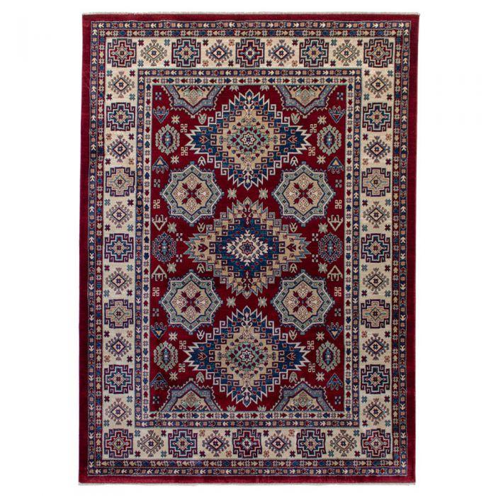 Hochwertiger Orientteppich Seidenimitat | Kurzflor Rot MY1354 | 140x200 cm 47345 Teppiche in 140x200 cm