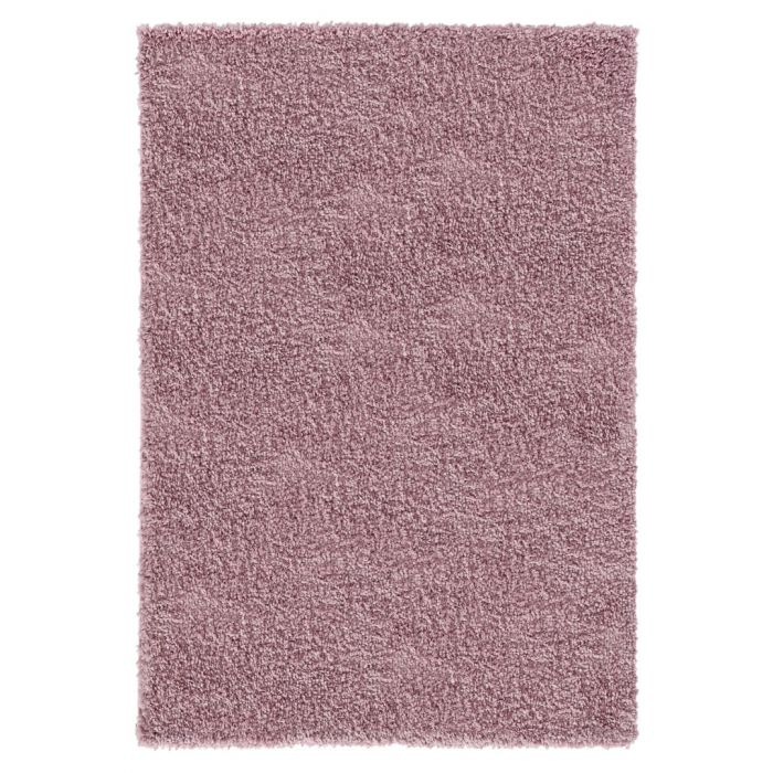 Kurzflor Shaggy Teppich Feel Good Rosa 30 mm M1800