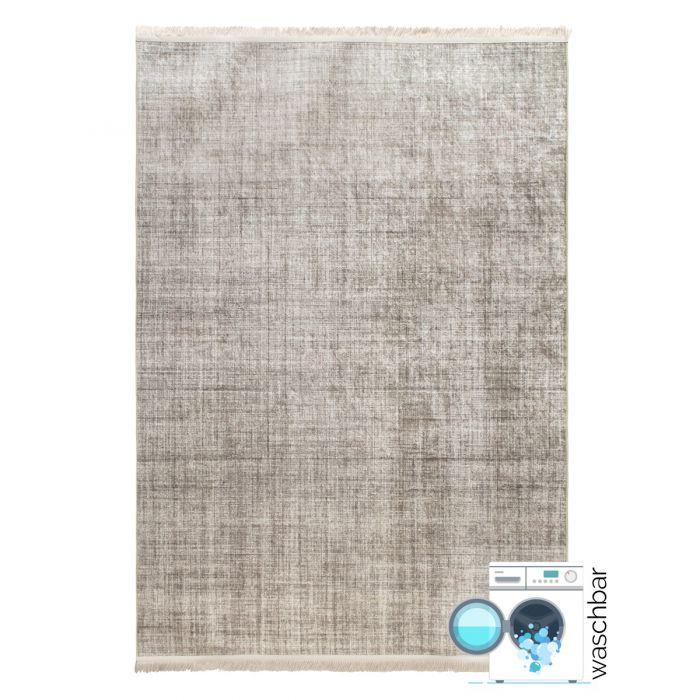 Waschbarer Teppich Beige | Designer Melierung mit Linien | MY2830 Caimaz-2830-beige Alle Artikel