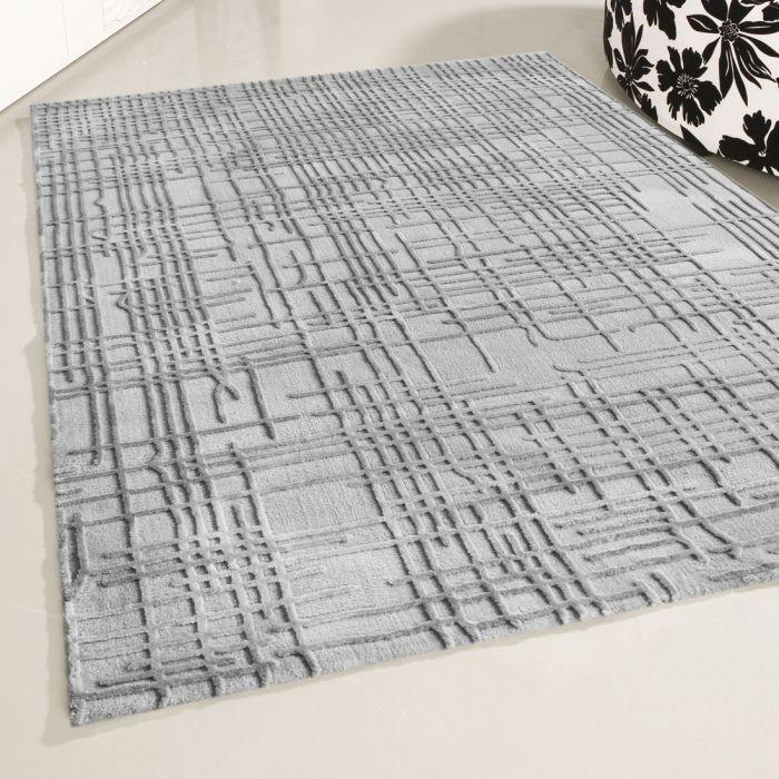 Designer Teppich Grau | 3D Gemustertes Design MY4215HG Art-4215-Hellgrau Alle Artikel