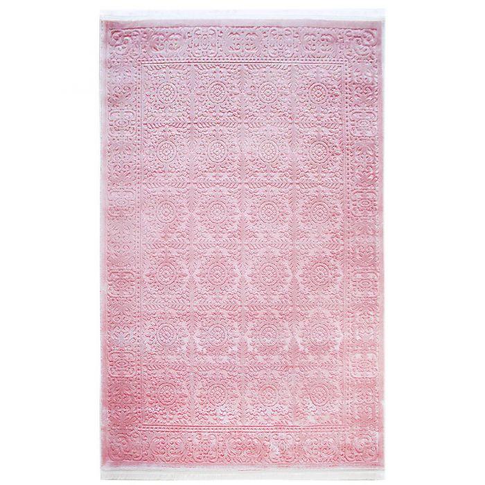 Designer Teppich Pink 3D Vintage Durchgemustert MP4283P