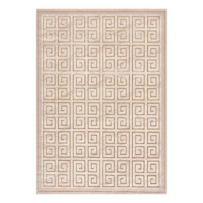 Designerteppich Pattern in beige M703