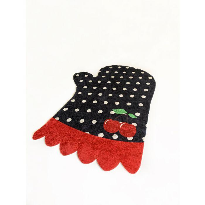 Waschbarer Kinderteppich Schwarz| Koch Handschuh Design| MY4120 Waschbarer Kinderteppich Schwarz| Koch Handschuh Design| MY4120 Alle Artikel