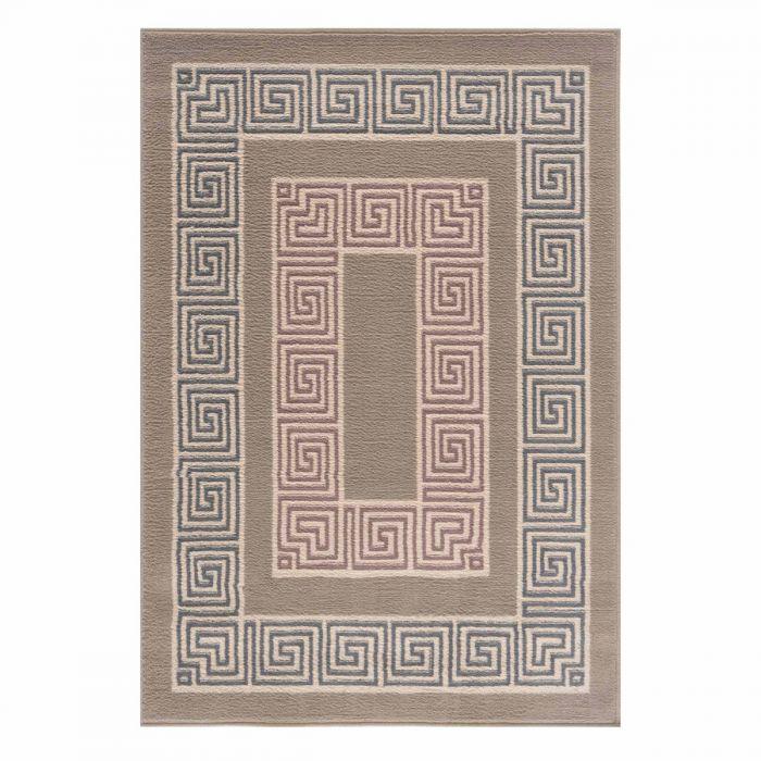Kurzflor Teppich Braun Pastel Versace Design 3232V
