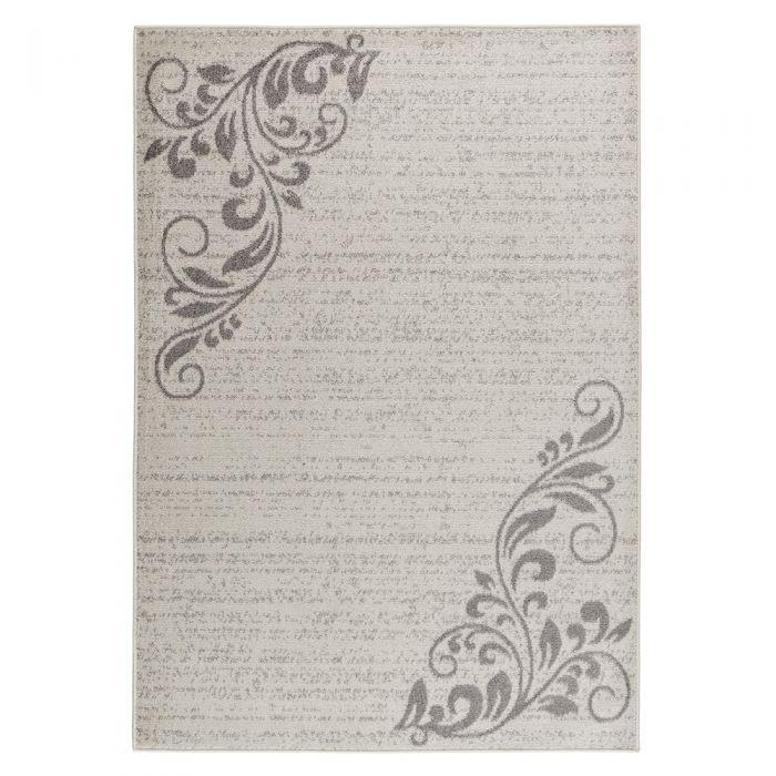 Teppich Kurzflor Cream Floral Blumen Design M1780