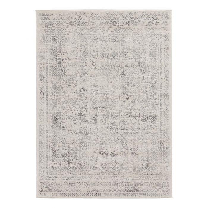 Alle Artikel Vintage Teppich Kurzflor Creme | Skandi Barock Style | MY3716