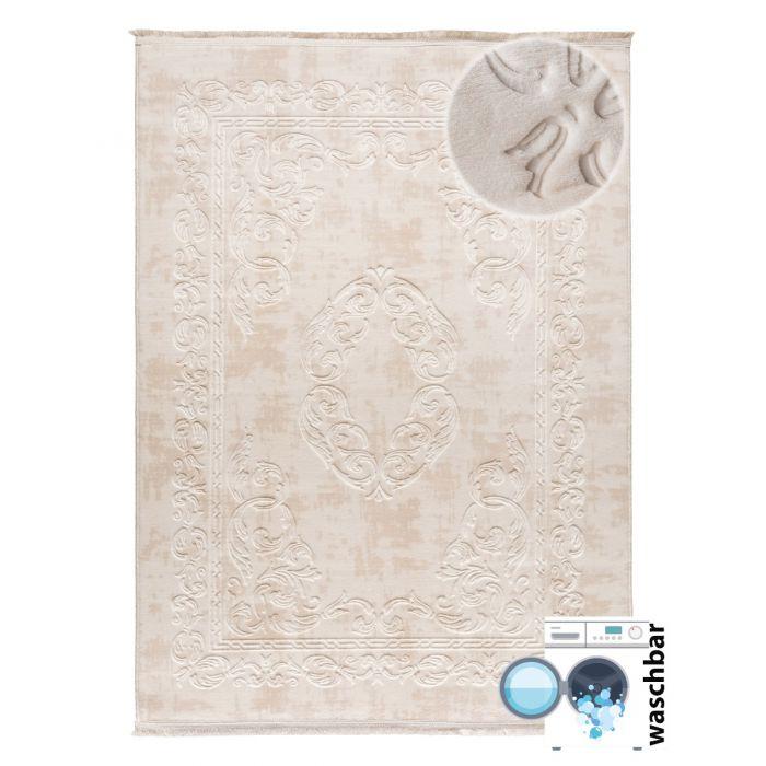 Waschbarer Teppich Apollon Beige 1904