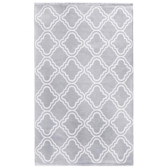 Teppich Grau Waschbar Designer Design Modern Kelim Teppiche ...