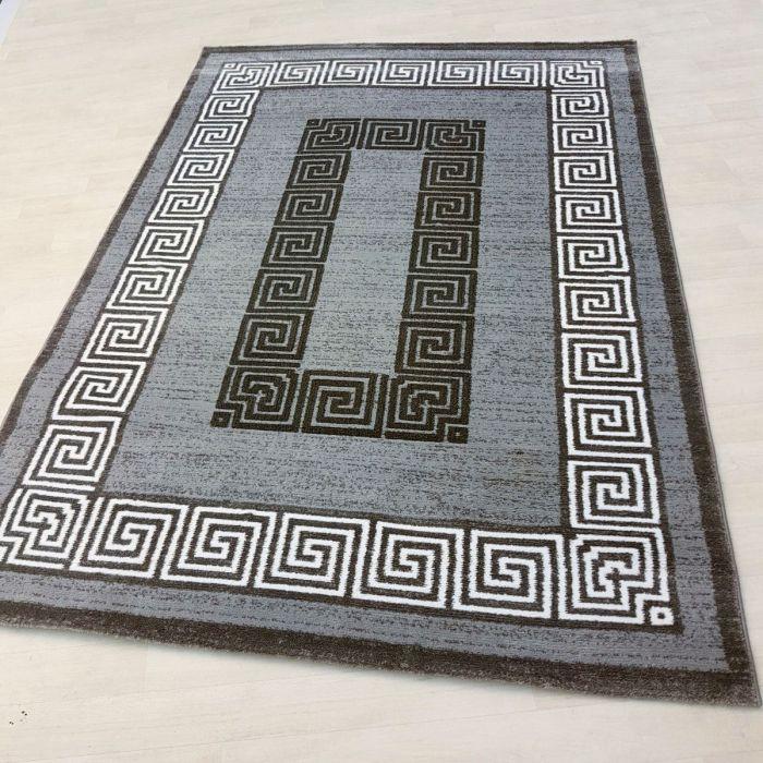 Teppich Grau Einzelstuck In 160x230 Cm Unikat Versace
