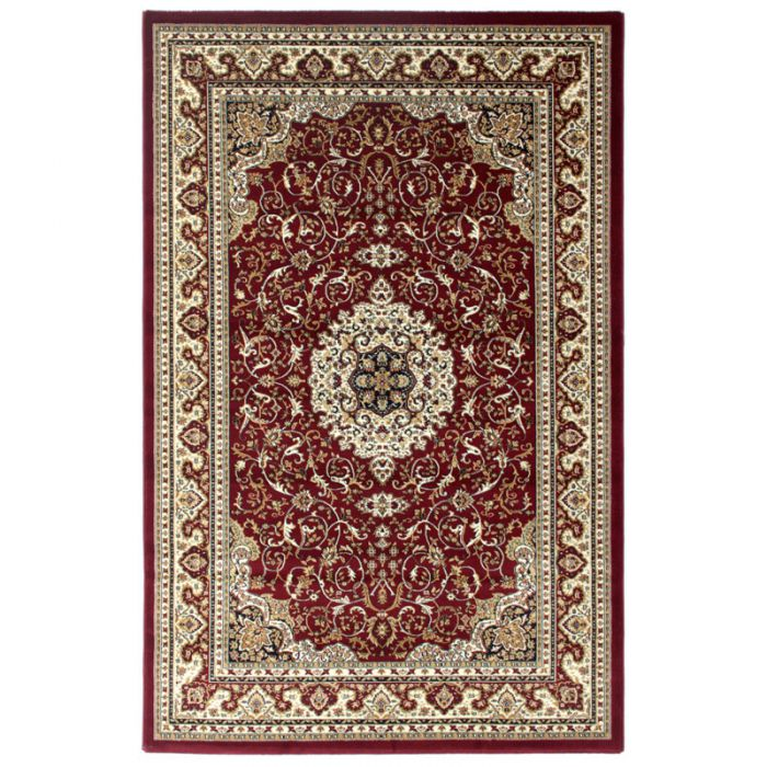 orientteppich vintage perserteppich mit ornamente teppich orientalisch rot 200x290