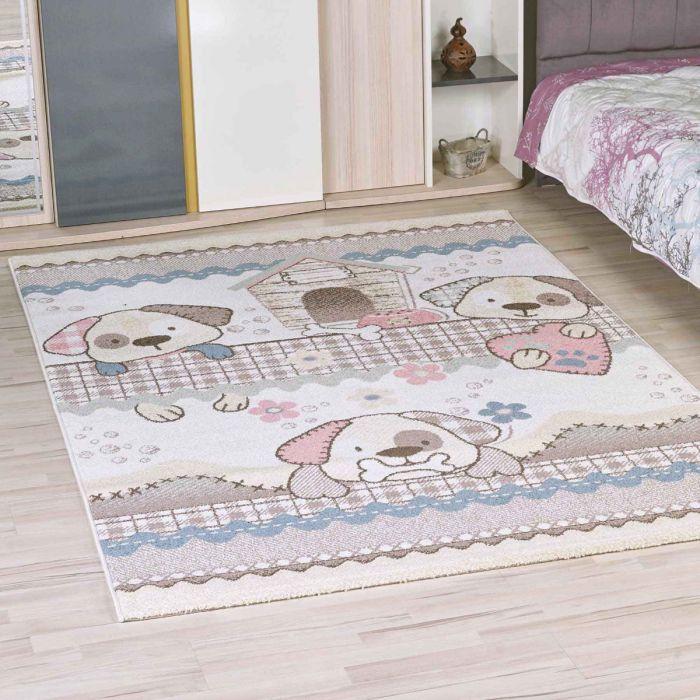 Kinderzimmer Teppich Bunt | H | motiven für Jungs | Mädchen Nr.4603 |  200x290 cm