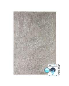 Antibakteriell Teppich Waschbar Beige | Modernes Kelim Design | MY1000J