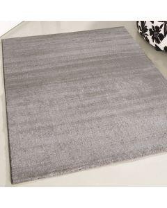 Moderner Kurzflor Teppich | Beige mit Rillen Farbverlauf | MY302J