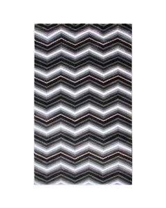 Teppich Kurzflor Rosa | Moderne Zick Zack Design | MY314RO