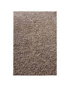 30 mm | Shaggy Hochflor Teppich Braun | Einfarbig Uni MY380