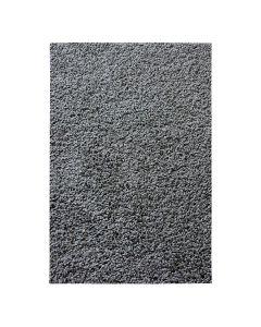 30 mm | Shaggy Hochflor Teppich Dunkel Grau | Einfarbig Uni MY380