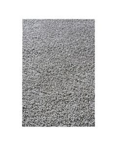 30 mm | Shaggy Hochflor Teppich Grau | Einfarbig Uni MY380