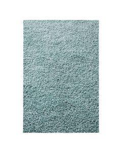 30 mm | Shaggy Hochflor Teppich Türkis | Einfarbig Uni MY380
