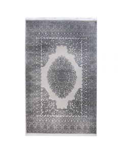 Designer Teppich Grau | 3D Struktur Muster MYP4212S