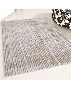 Designer Teppich Beige | 3D Gemustertes Design MY4215