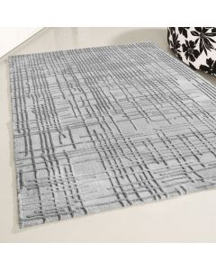 Designer Teppich Grau | 3D Gemustertes Design MY4215HG