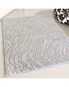 Designer Teppich Weiss | Strukturiertes 3D Design MY4216