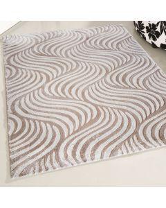 Designer Teppich Beige | Retro Designer Style MY4239