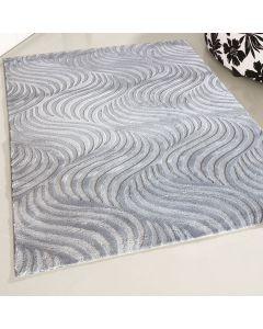 Designer Teppich Grau | Retro Designer Style MY4239