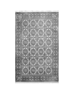 Designer Teppich Grau | 3D Vintage Durchgemustert MYP4283S