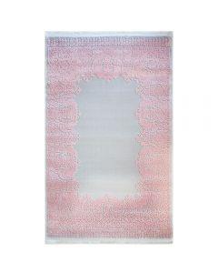 Designer Teppich Grau Rosa | 3D Vintage Barock MYP4286