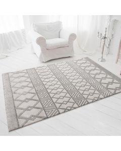 Designer Teppich 3D Skandi Illusion in Grau | MY6200S