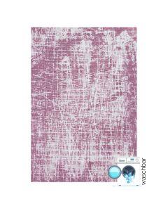 Antibakteriell Baumwolle Teppich Waschbar | Young Pattern Rosa | MY6922