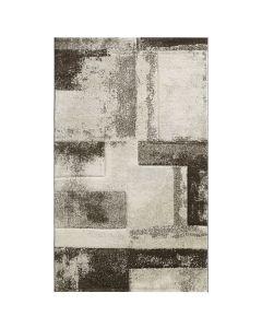 Teppich Wohnzimmer Beige   Design Marmor Meliert MY7432