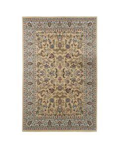 Orientteppich Beige | Orientalisch Durchgemusterte Bordüre MY804