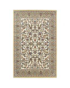 Orientteppich Creme | Orientalisch Durchgemusterte Bordüre MY804