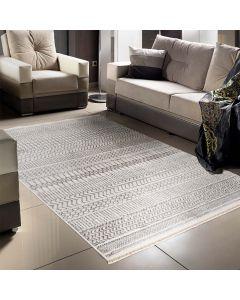 Designer Teppich Boho Grau | MI2120