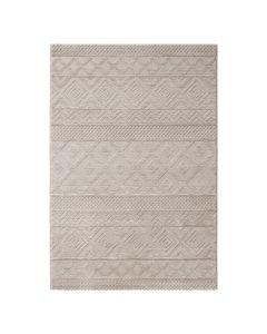 Designer Teppich 3D Skandi Pattern in Beige| MY6100J