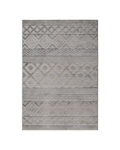 Designer Teppich 3D Skandi Pattern in Grau | MY6100S