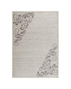 Teppich Kurzflor Cream | Floral Blumen Design MY1780