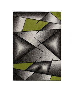 Moderner Kurzflor Teppich Grün   Designer Muster MY1790