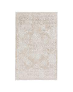 Moderner Designer Teppich Acryl in Creme Beige | 2502