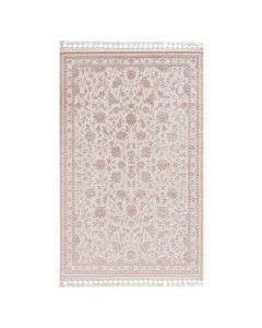 Moderner Designer Teppich Acryl in Weiß 6896