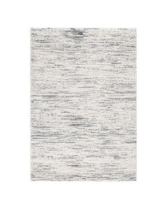 Teppich Wohnzimmer Modern Grau | Gepunktetes Muster Konturenschnitt MY7406G