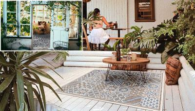 Outdoorteppiche im Innenbereich einsetzen