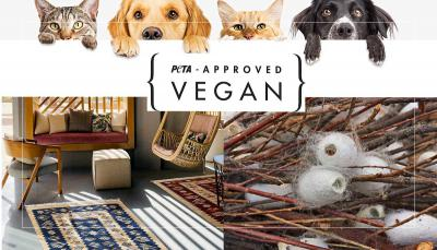 Recycelte Teppiche für die Nachhaltigkeit