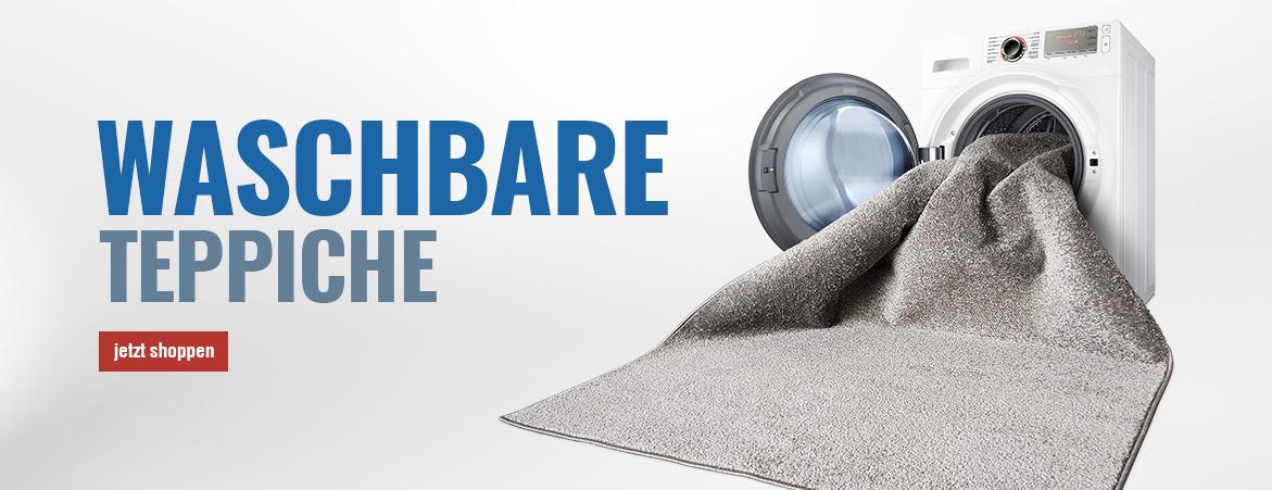 Waschmaschinen geeignete Teppiche