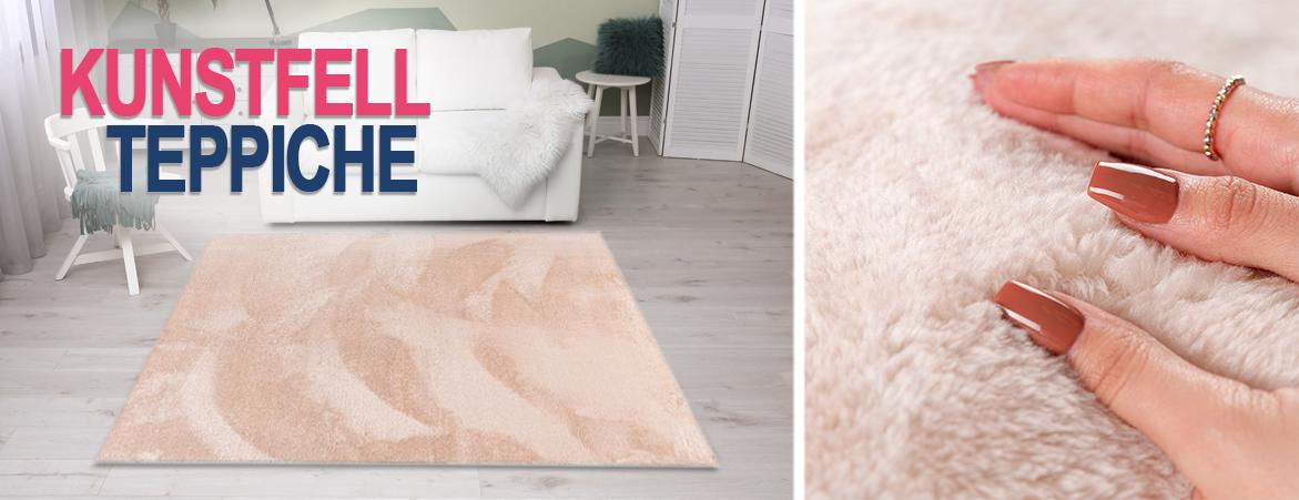 Kanninchenfell Teppich online auf myneshome kaufen