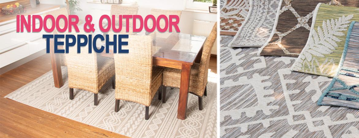Outdoor und Indoor Teppiche online auf myneshome kaufen